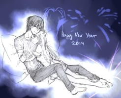 Happy New Year 2014 by Kite-d