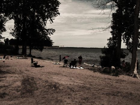 Erie Beach Day by DailyB