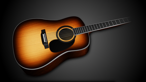 Acoustic Guitar by Ktostam25