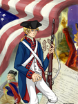 Revolutionary War America by McMitters
