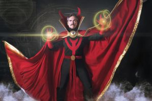 Dr Strange Being Strange by Gryz