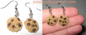Cookie Earrings by snoday