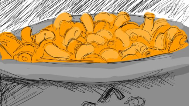 mac and cheese  by cerarasore