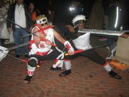 Killer Bee 7 Swords Dance by kakashi-shishio