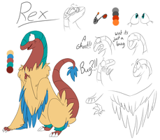 Meet Rex by LaughingZoroark
