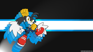 Wallpaper Klonoa by Th33z