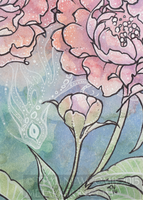 Rose Ghost ACEO by thedancingemu