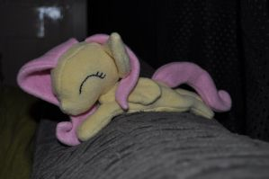 Fluttershy beanie by Blindfaith-boo
