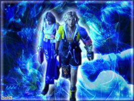 Tidus and Yuna... by LoveLoki