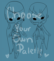 Choose Your Own Palette Gypsys CLOSED by coolkatadopts