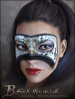 Behind the Mask G3F by cosmosue