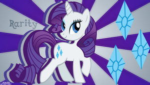 Rarity Wallpaper by JeremiS