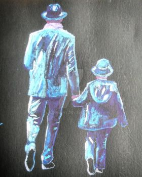 Father and Son by yalinalpay