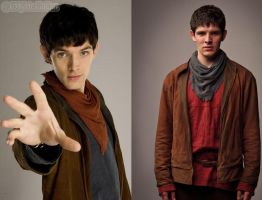 Merlin series 1-5 by MagicalPictureMaker