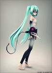 TDA Vocaloid Hatsune Miku Append by ElyStrife