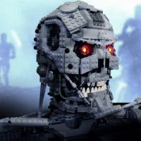 Terminator made from legos by ShadowThePerson