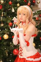 Macross Frontier: Merry Christmas without you by monsoonlotus