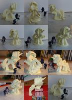 Mah first pony sculpture :D by SonicPegasus