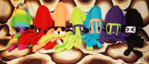 Squids in a row-ID by Cyber-Scribe-Screens