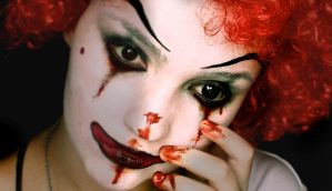 Coulrophobia by KlairedeLys