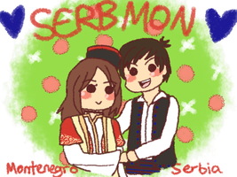 [HETALIA] SerbMon by melonstyle
