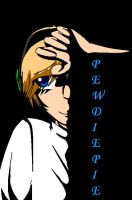 Dark Days: Pewdiepie (colored) by judy2468
