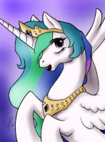 Princess Celestia by darksteelLycaon