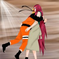 Naruto and Kushina : Nice to meet you... by MimiSempai