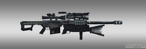 Special Forces Caitlyn Rifle by littlewati