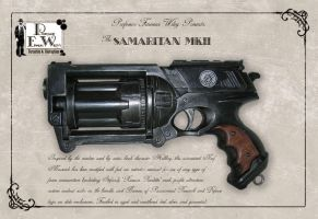 The Samaritan Revolver by davincisghost