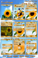 Sunflower for W850 by cicilene