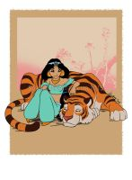 Jasmine and Rajah by Solkatt