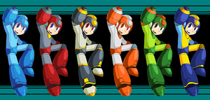 The Battle Rainbow Rockman by SchAlternate