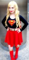 Supergirl Cosplay Comikaze Expo 2014 by Joel111011