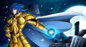 -Guardian- HB to Gemini Saga (saint seiya) by Geniever356