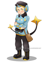 Shinx Gijinka by Kazeno-san