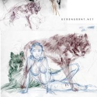 Wolves by Kerong