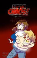 Epic Chaos! Front Cover by ArtByMelissaM