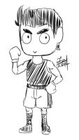 Little mac chibi practice by reikomiyakami