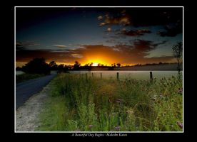 A Beautiful Day Begins by FireflyPhotosAust
