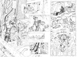 Magic Bullets Pencil Pg 2and3 by cronevald