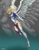 Commish 321: Angel Jessie by rhardo