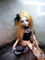 Ginger for Christmas B BJD by cdlitestudio