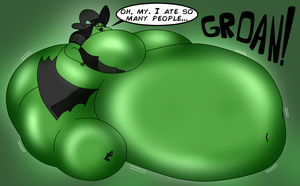Greatly Great Green Glutton by MrPr1993
