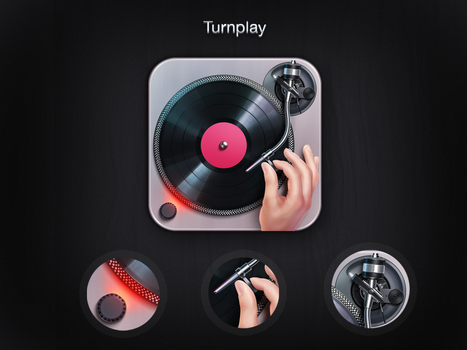 Turnplay App icon by Icondesire