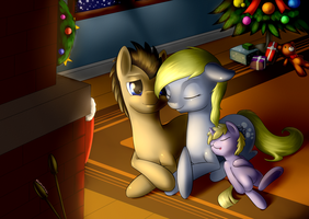 Merry christmas, Hooves! by RenateThePony