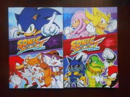 Sonic Select Books 1 and 2 by BoomSonic514