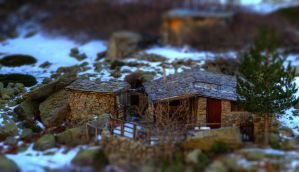 Tilt Shift Restonica by Robinours2b