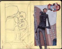 Untitled Moleskine page by jppeer
