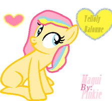 Yelloly Balonne by MaguiPinkie